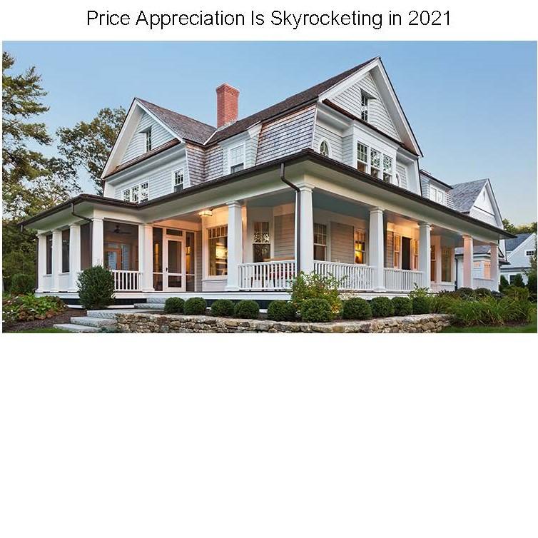 Price Appreciation 2021